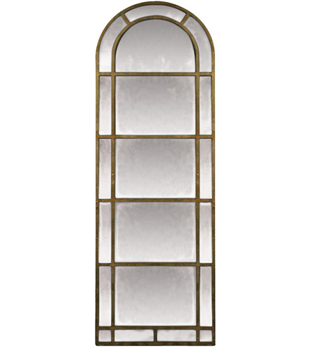 Sterling Industries Arched Pier Mirror in Antique Gold Leaf 26-4640M photo