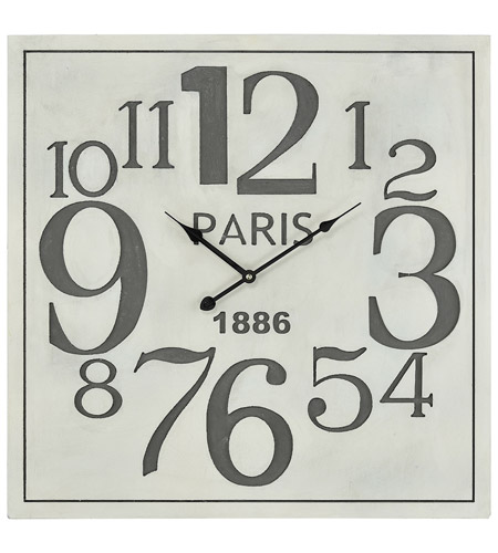 Sterling 3205 006 Quai Voltaire 24 X 24 Inch Wall Clock