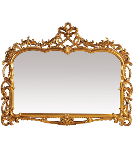 Sterling Industries Capetian Mirror Mirror in Gold Leaf 40-2470M photo