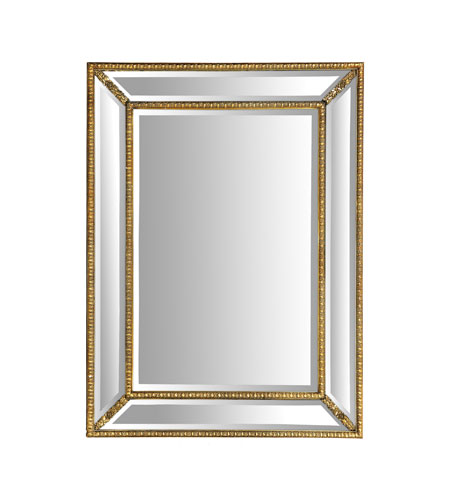 Sterling Industries Beverly Foyer Mirror in Gold Leaf 40-3214M photo