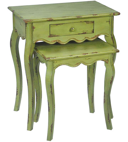 Sterling Industries Set of 2 Verde Stacking Tables 51-0021 photo