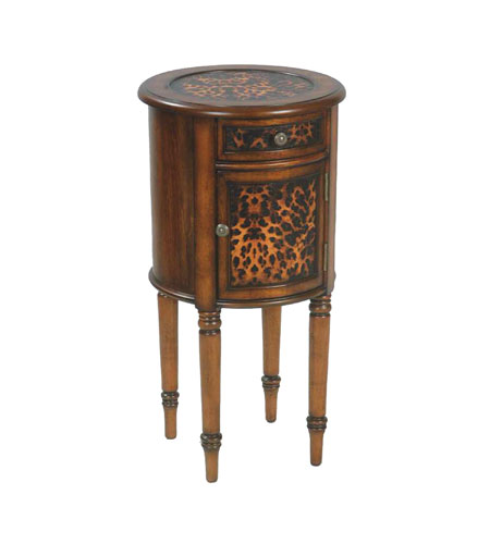 Sterling Industries Leopard Drum Table 51-0061 photo