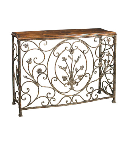 Sterling 51-0673 Floral 44 X 13 inch Console Home Decor photo