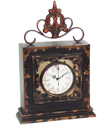 Sterling 51-0834 Finial 14 X 3 inch Mantle Clock photo