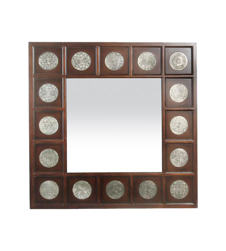 Sterling Industries Stamped Medallion Mirror 51-1403M photo