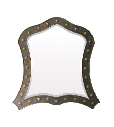 Sterling Industries Boden Park Mirror in Devonshire Bronze 55-210 photo