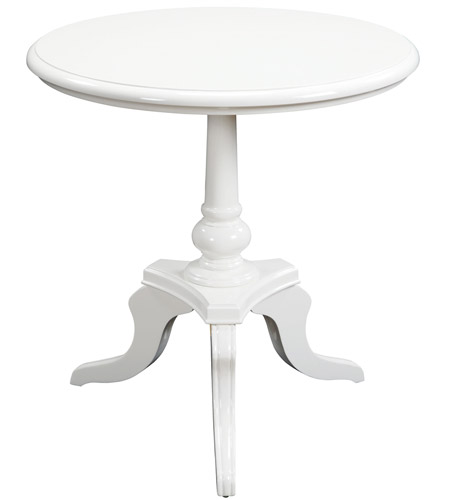 25 X 24 Inch High Gloss Side Table