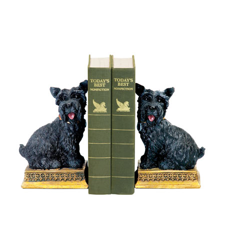 Sterling Industries Pair Baron Bookends Decorative Accessory in Black 7-7092 photo
