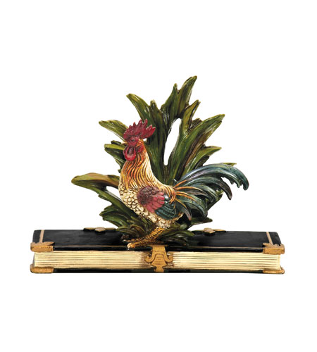Sterling Industries Rooster Card Holder Decorative Accessory in Painted 7-8205 photo