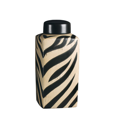 Sterling Industries Large Zebra Jar Decorative Accessory 72-3212 photo