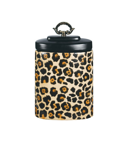 Sterling Industries Leopard Jar Decorative Accessory 72-3697 photo