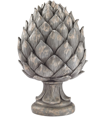 Sterling artichoke decor in aged grey 87 001 for Artichoke decoration