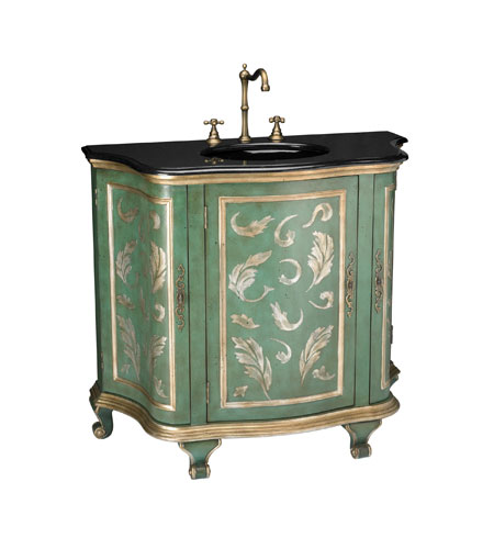 Sterling Industries Aquarelle Vanity With Sink Cabinet and Sink 88-1011SM photo