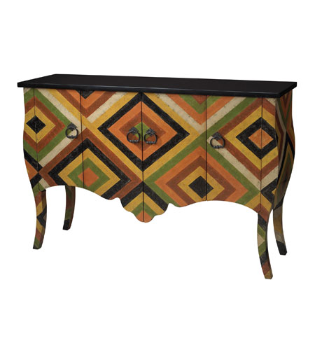 Sterling Industries African Print Chest in Abbas 88-9004 photo