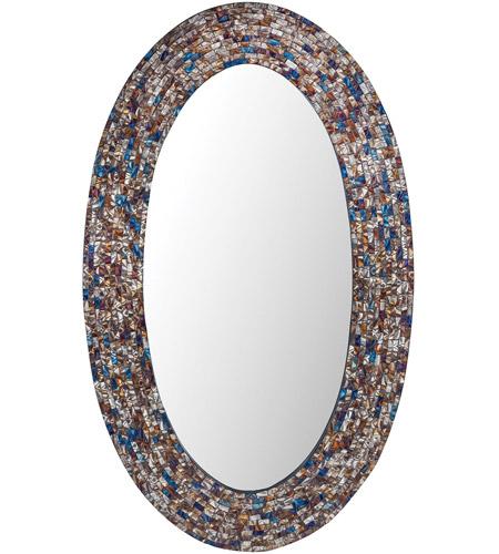Sterling 8983 047 Byzantion 40 X 24 Inch Shoreline Wall Mirror