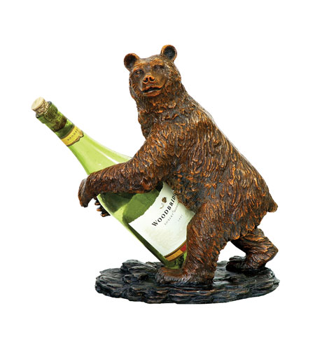 Sterling Industries Bear Wine Holder Decorative Accessory 91-2119 photo