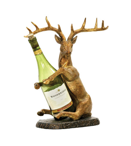 Sterling Industries Deer Wine Holder Decorative Accessory 91-2120 photo