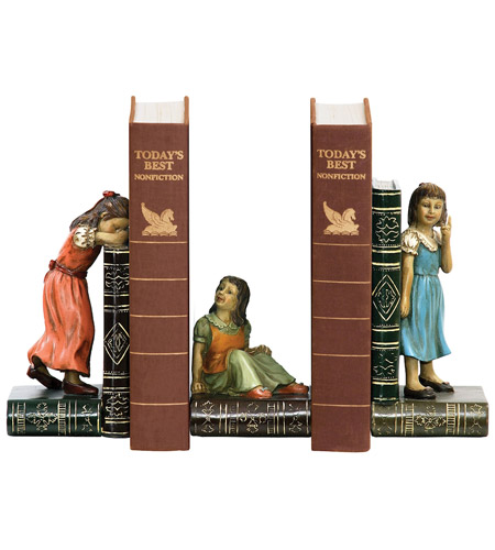 Sterling Industries Set Child Games Bookends Decorative Accessory 91-2448 photo