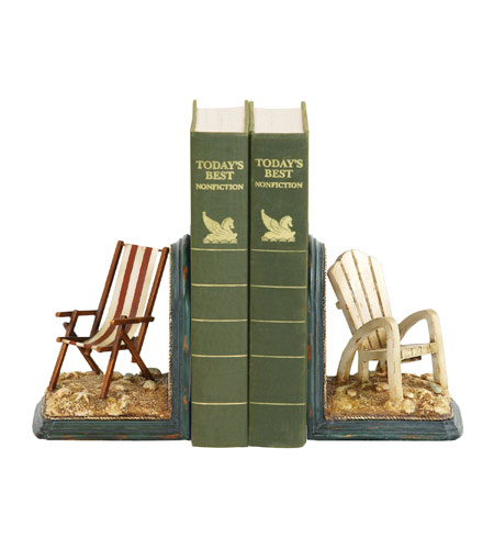 Sterling Industries Pair Beach Chair Bookends Decorative Accessory 91-4206 photo