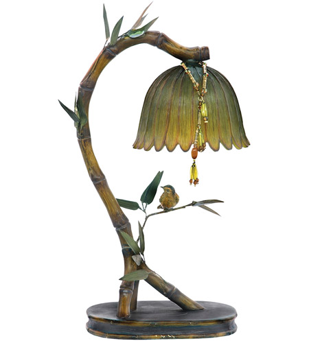 Sterling 91-932 Perching Finch 17 inch 15 watt Table Lamp Portable Light photo