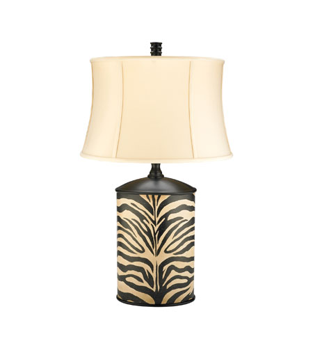 Sterling Industries Zebra Cannister Table Lamp 91-977 photo
