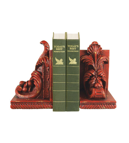 Sterling Industries Pair Acanthus Scroll Bookends Decorative Accessory 93-0951 photo