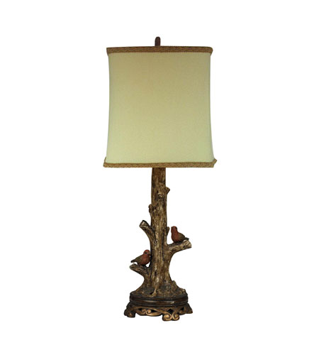 Sterling 93 19310 birds on a branch 24 inch 100 watt for 100 watt table lamps