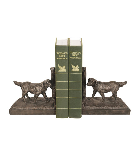 Sterling Industries Pair Retriever Bookends Decorative Accessory 93-7307 photo