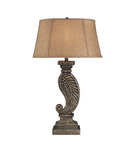 Sterling Industries Saint Gilles Table Lamp in Downielville Aged Stone 93-9119 photo