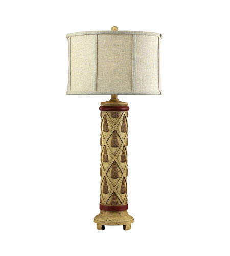 Sterling Industries Warren Ave Table Lamp in Thornton Cream 93-9126 photo
