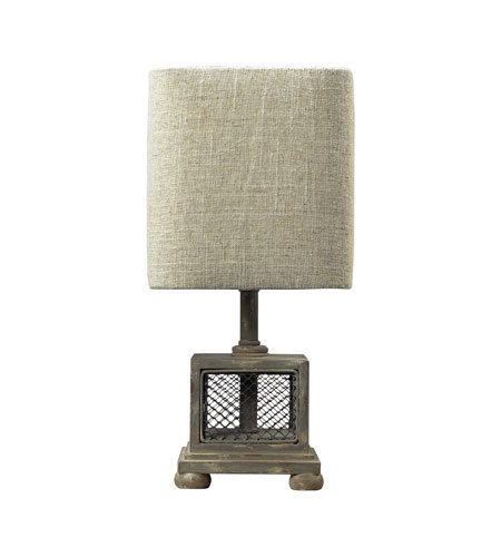 Sterling Industries Delambre 1 Light Mini Lamp in Montauk Grey 93-9150 photo