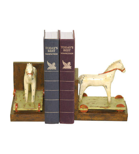 Sterling Industries Pair Childs Pony Bookends Decorative Accessory 93-9234 photo
