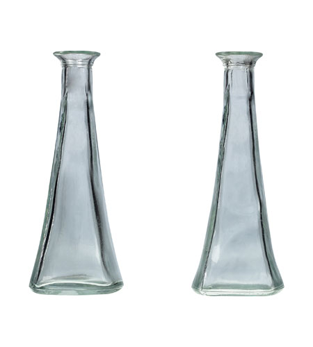 Sterling Industries Clear Glass Single Stem Jars Decorative Accessory 93-9265 photo
