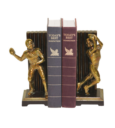 Sterling Industries Pair Vintage Touchdown Bookends Decorative Accessory 93-9508 photo