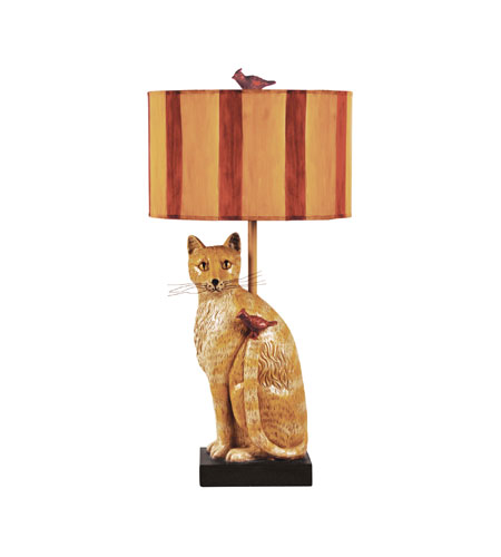 Sterling 93 953 Cats Meow 34 Inch 100 Watt Table Lamp Portable Light