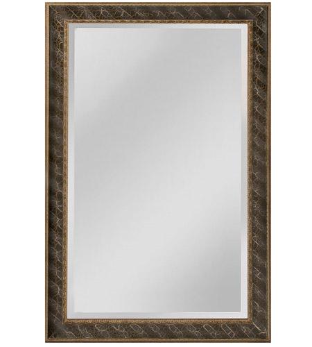 Clearfield 46 X 34 Inch Black Wall Mirror