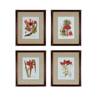 Sterling Industries Trumpet Flowers  Set of 4 Wall Art 10001-S4 photo thumbnail