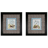 Sterling Industries Birds & Blooms Set of 2 Wall Art 10002-S2