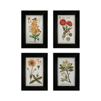 Sterling Industries Flowers Set of 4 Wall Art 10004-S4
