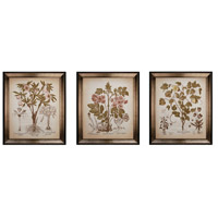 Sterling Industries Custom Tinted Beslar Set of 3 Wall Art 10006-S3