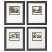 Sterling Industries Mini Estates Set of 4 Wall Art 10009-S4