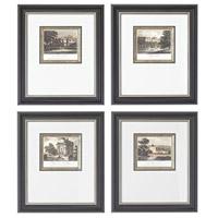 Sterling Industries Mini Estates Set of 4 Wall Art 10009-S4
