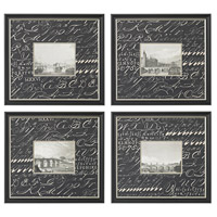Sterling Industries Bridges Set of 4 Wall Art 10013-S4