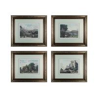 Sterling Industries Tranquil Countryside Set of 4 Wall Art 10014-S4 photo thumbnail