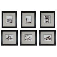 Sterling 10016-S6 Etchings Wall Art