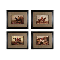 Sterling Industries Hunters & Jumpers Set of 4 Wall Art 10018-S4 photo thumbnail