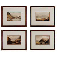 Sterling Industries Valley Renderings Set of 4 Wall Art 10022-S4 photo thumbnail