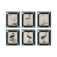 Sterling Industries Solitary Heron Set of 6 Wall Art 10036-S6