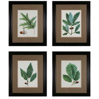 Sterling Industries Oak Leaves Set of 4 Wall Art 10039-S4