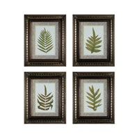Sterling Industries Fashionable Fern Set of 4 Wall Art 10040-S4
